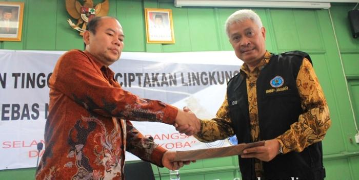 Rektor UIN SGD Bandung & Ketua BNNP Jawa Barat