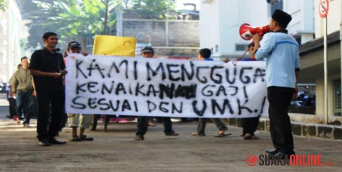 Demonstrasi OB UIN SGD Bandung