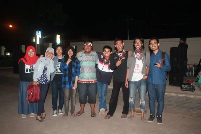 Komunitas 81 ketika lauching, di Taman UIN SGD Bandung. (Foto:Dokumen Komunitas 81)