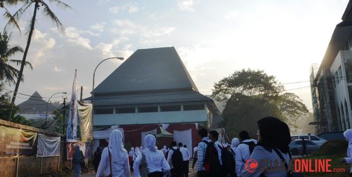 Mahasiswa baru (Maba) UIN SGD Bandung. (Foto: Ahmad Rijal Hadiyan/Suaka)