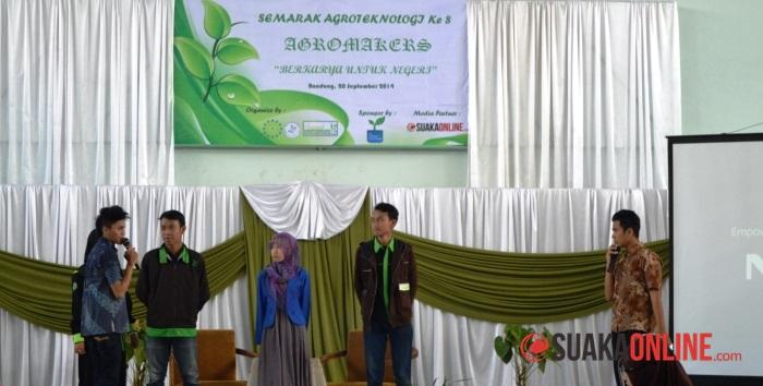 Suasana Semarak Agroteknologi 2014. (Foto: Isthiqonita)