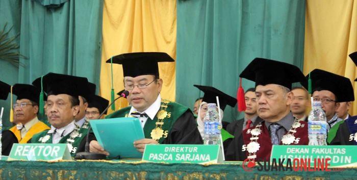 Rektor UIN SGD Bandung Deddy Ismatullah. (Foto: Dok. Suaka)
