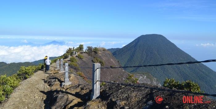 Pemandangan dari Puncak Gunung Gede. (Ilstrasi: Dok. Suaka)