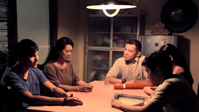 "Cuplikan film Toba Dreams ""Sebuah Janji Cinta"". (Dok. Net)."