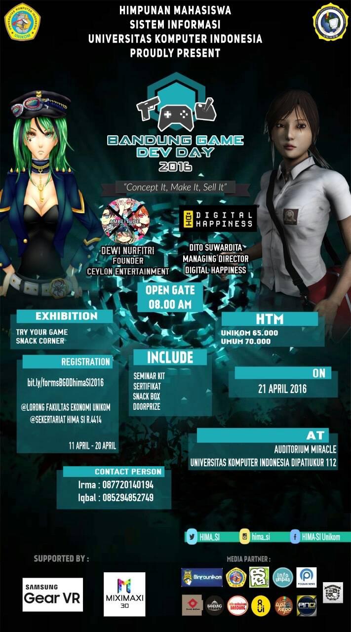 Bandung Game Dev Day 2016